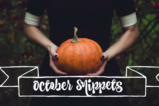 The Redhead's Snippets Of The Month:  OCTOBER