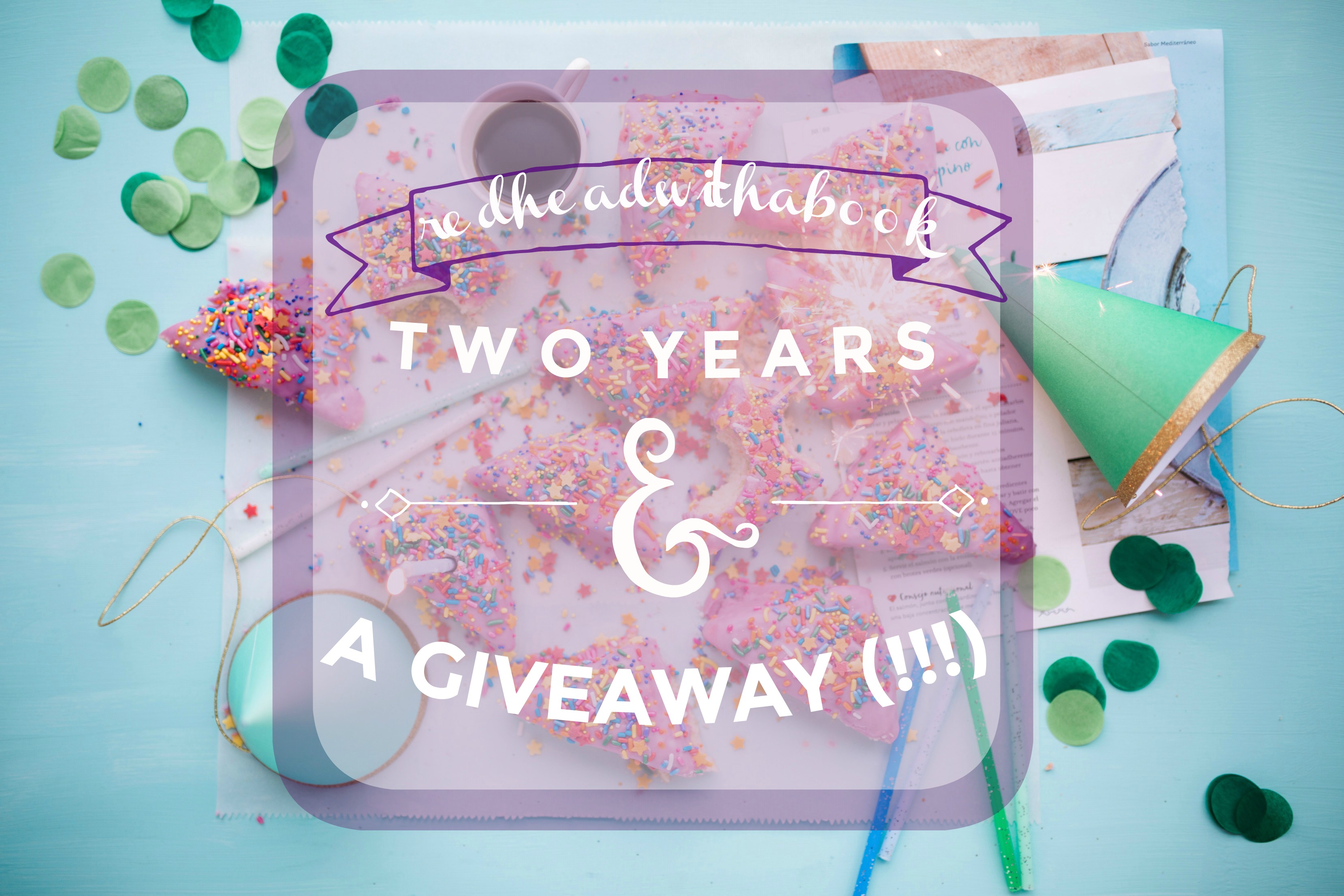 RED HEAD WITH A BOOK 2 YEAR BLOGIVERSARY {GIVEAWAY}